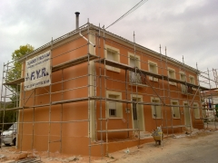 Monocapa,pintura de fachadas...trabajos garantizados.