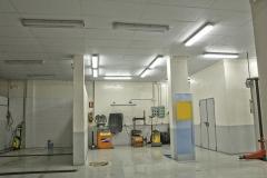 Interior del taller mecanico de madrid maestrum - cuatro caminos