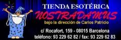 Tienda nostradamus. Logo