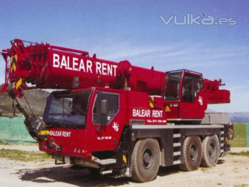 Foto servicio de gr as m viles en mallorca - Empresas de construccion en mallorca ...