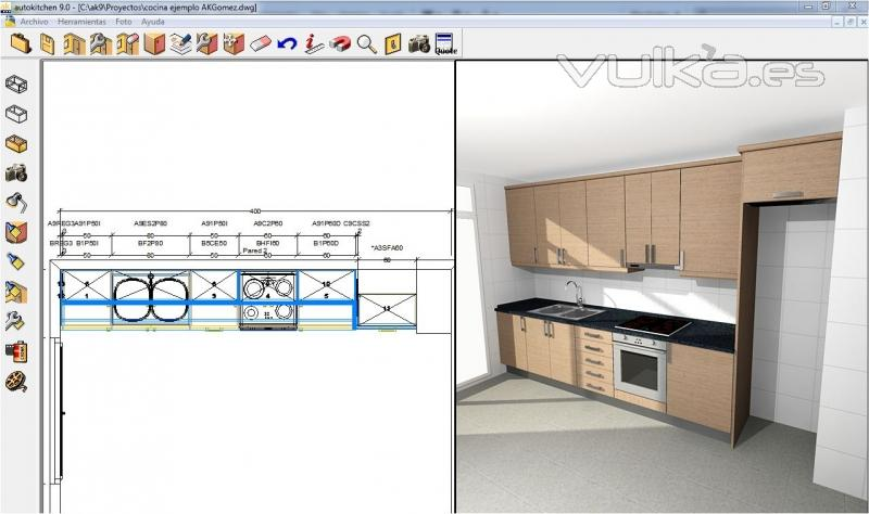 Foto enlace con dise o de autokitchen for Software para diseno de muebles y optimizacion de corte gratis