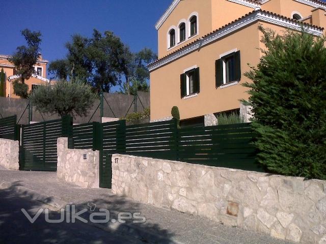 Foto vallas de jardin for Vallas de jardin metalicas