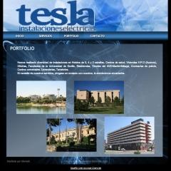 Web low cost instalaciones electricas tesla
