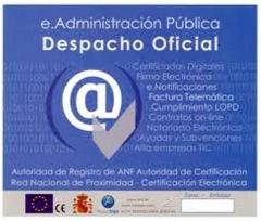 Despacho Oficial Certificados Digitales ANF