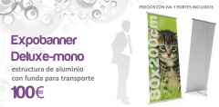 Expositores y Displays, Banners, Roll-Ups, 100EUR