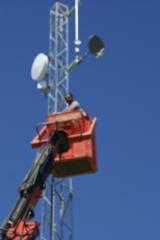 Instalaci�n de antenas en elproyecto wifi de almod�var del r�o