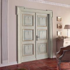Puerta cl�sica policromada new desing porte