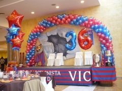 36 aniversario pe�a barcelonista de vic