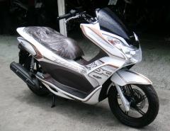 Moto Honda Valencia pcx