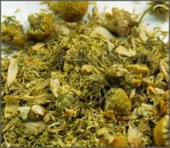 Manzanilla y todo tipo de hierbas