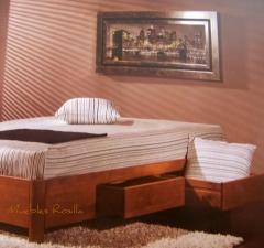 Nuevo modelo de canapé en madera maciza,lleva 4 cajones para tenerlo todo en orden.