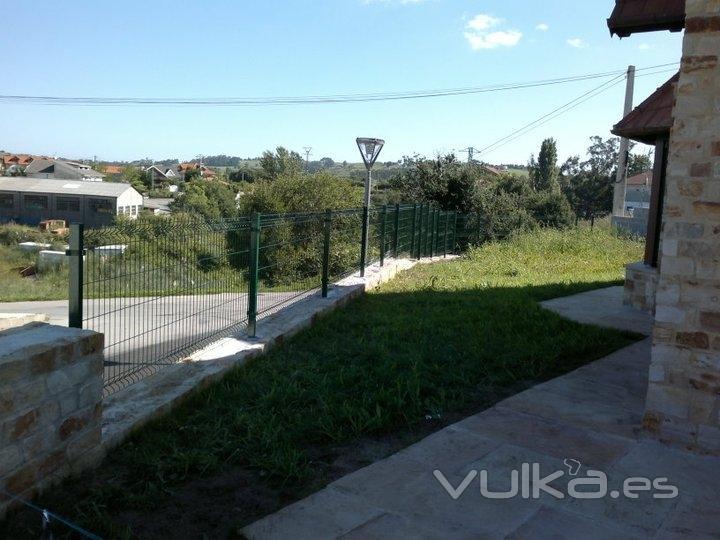 Cerramientos ruan for Cierre jardin