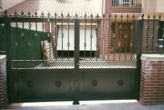 Vallas y puertas de exterior