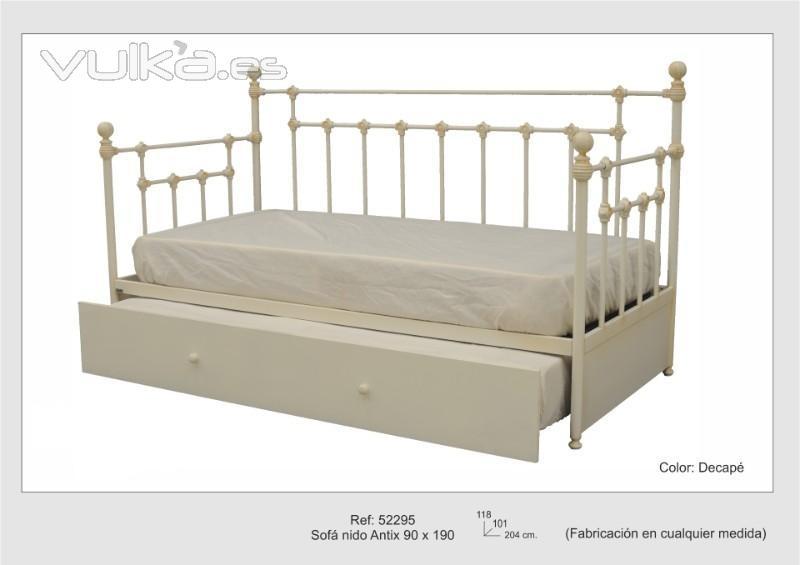 Forjaeconomica decoraci n en muebles de forja for Muebles y decoracion on line