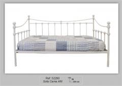 Sofá cama forja alfil color blanco puro. disponible en varias medias y colores.