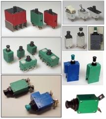 Sensata technologies - disyuntores o circuit breakers para aplicaciones aerona�ticas y militares.