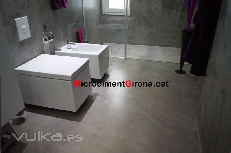 Baño En Microcemento:Microcemento baño