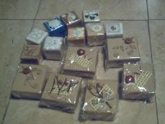 Cajitas de regalo o joyeros (por unidad o conjunto)