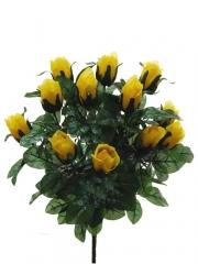 Flores cementerio. ramo capullos rosas artificiales oasisdecor.com
