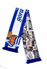 Bufandas raso sublimado peñas futbol