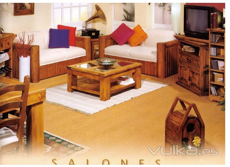 Muebles sicamobel for Muebles auxiliares rusticos