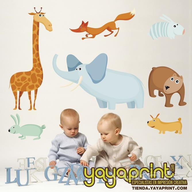 Foto vinilo infantil vinilo decorativo de pared for Vinilos bebe nina
