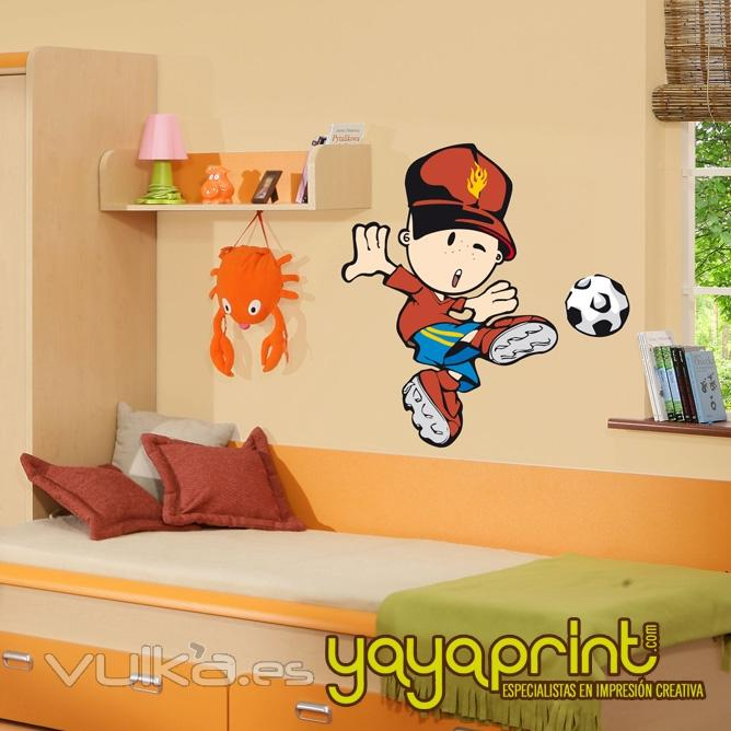 Foto vinilo infantil vinilo decorativo de pared for Pegatinas pared nina