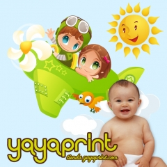 Vinilo infantil,vinilo decorativo de pared, pegatinas, beb�s ni�os y ni�as, decoraci�n yayaprint.com