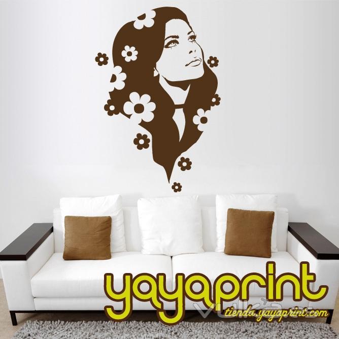 vinilo decorativo de pared, pegatinas, stickers, stikers, decoraci�n Yayaprint.com
