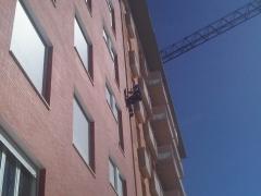 Trabajos en fachadas :: juntas de dilatacion