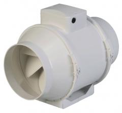 Extractor centr�fugo para instalaci�n en conductos con di�metros disponibles de 100 a 315 mm.