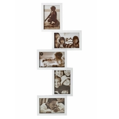 Portafotos multiple isemia 10x15 blanco 5 fotos en lallimona.com
