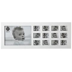 Portafotos multiple mi primer a�o blanco en lallimona.com