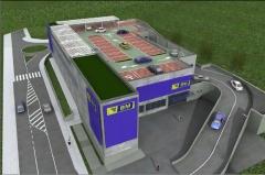 Comenzadas las obras de ejecuci�n del Supermercado Bm, en la infograf�a se puede observa como quedar