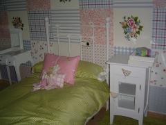 Dormitorio infantil blanco