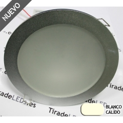 Empotrable de Techo tipo downlight LED, 15W, color: Blanco Puro
