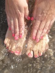 Esmaltado permanente en manos y pies