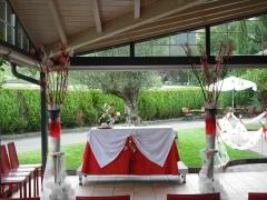 Frontal donde se celebro la ceremonia civil
