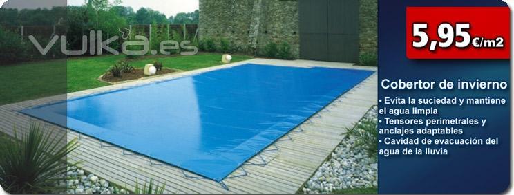 Foto cobertores invernaje cubiertas de invierno en venta Cubierta piscina precio