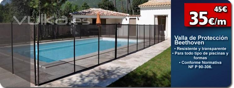 Outlet piscinas for Vallas para piscina