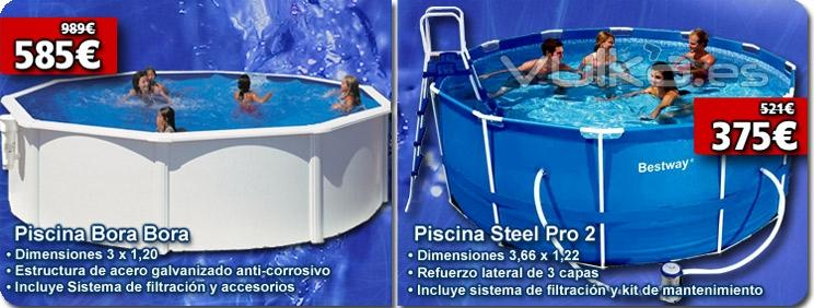 Foto piscinas desmontables al mejor precio en outlet piscinas for Precios piscinas desmontables