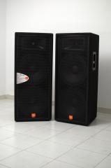 Altavoces JBL tipo Jrx 125 de 500 vatios