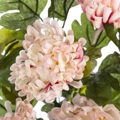 Ramo flores artificiales crisantemos rosas 50 en lallimona.com (detalle 2)