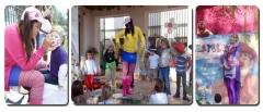 Animaciones de fiestas, disfraces, magos, payyasos, en Sevilla.