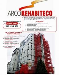 Rehabilitacion con aislamiento termico en fachadas obra colindres