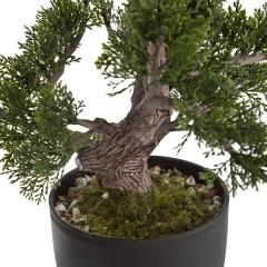Bonsai artificial cedro redondo 38 en lallimona.com (detalle 2)