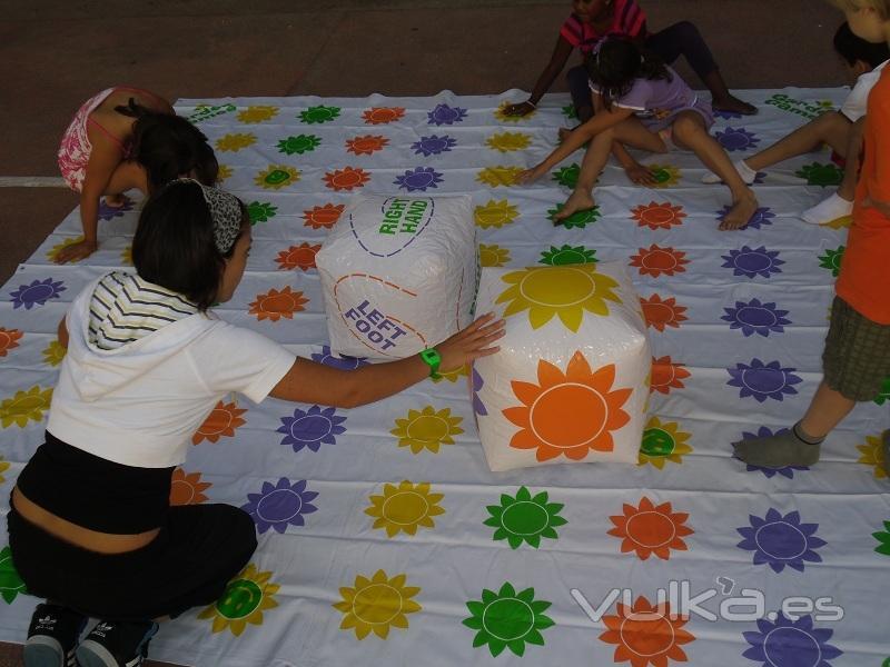 Foto Juegos Gigantes Animacion Infantil