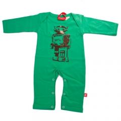 Bodysuit moderno y original para beb� estampado de robot de la marca stardust