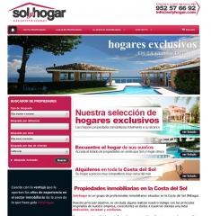DISEÑO PORTAL INMOBILIARIO SOLYHOGAR.COM
