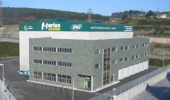 Sede de la empresa en el Parque Empresarial Principado de Asturias en Aviles